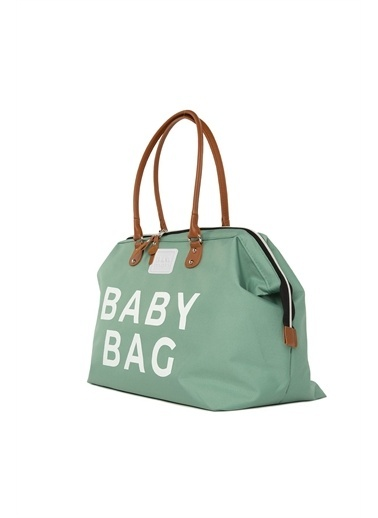 Bagmori Baby Bag Baskılı Bebek Bakım Çantası M000002169 Yeşil